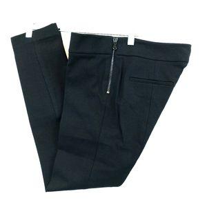 New Ann Taylor Pants size 2 Black Ponte Knit